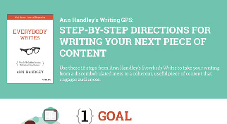 A Writing GPS: The Step-by-Step Guide To Creating Your Next Piece of Content!