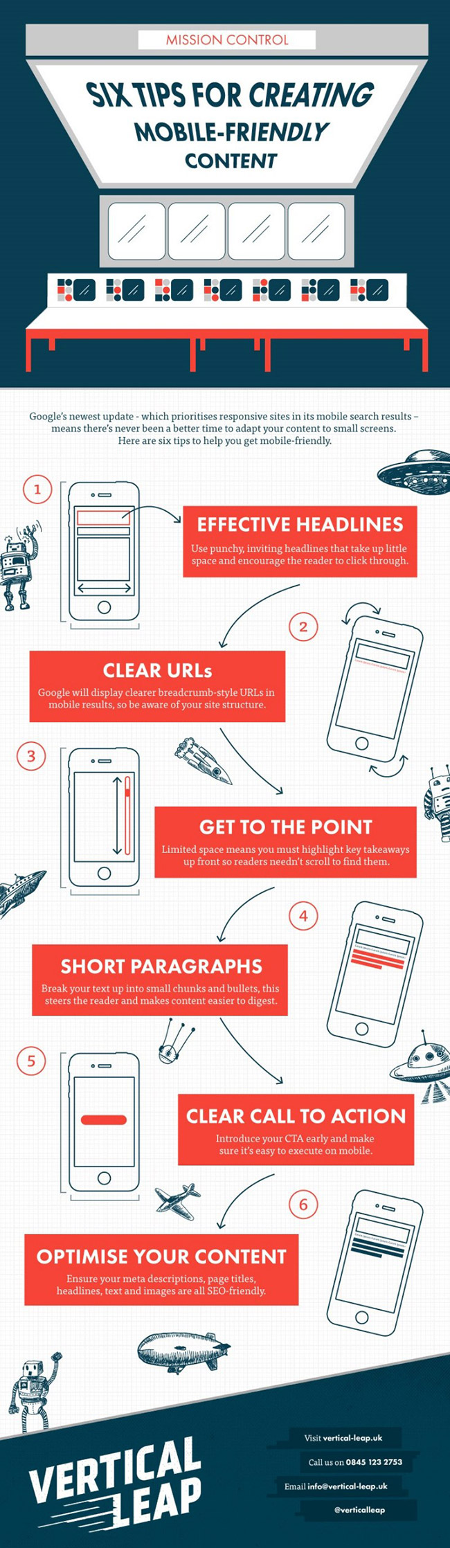 6 Tips For Creating Mobile Friendly Content