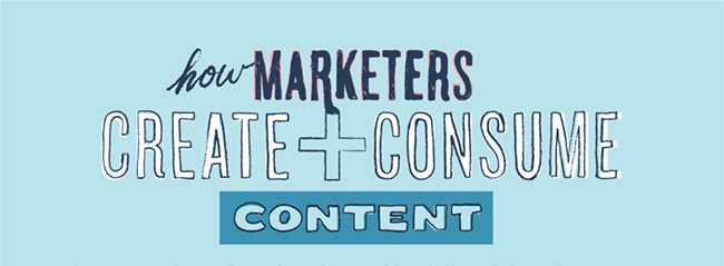 How Marketers Create and Consume Content