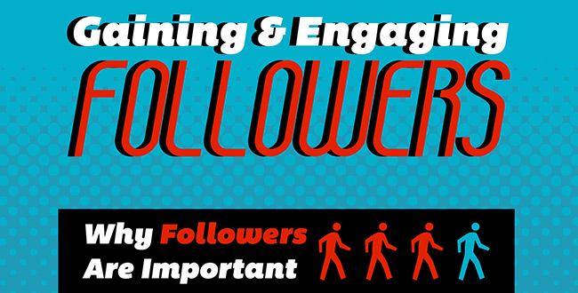 Gaining and Engaging Followers