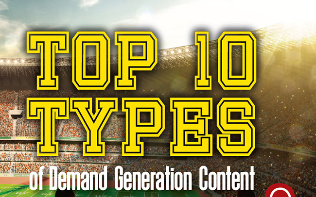 10 Types Of Content To Supercharge Your Sales & Marketing Strategy