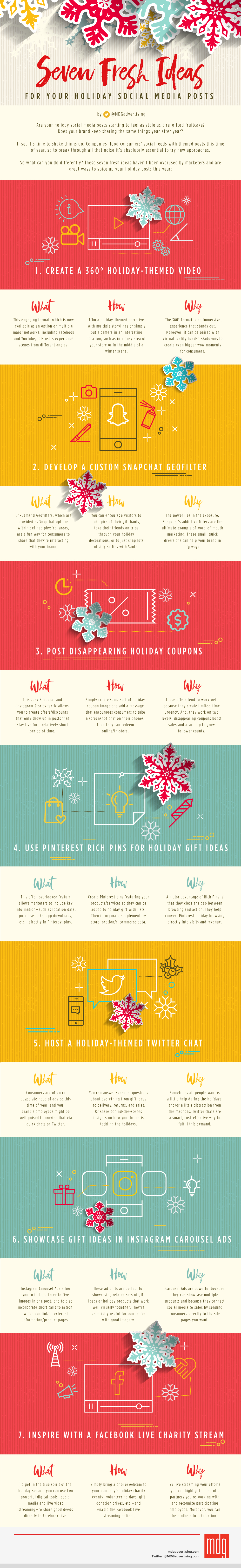 Seven Fresh Ideas For Your Holiday Social Media Posts