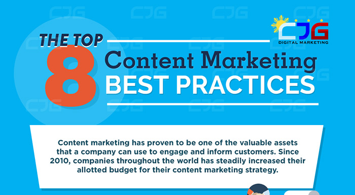 Top 8 Content Marketing Best Practices