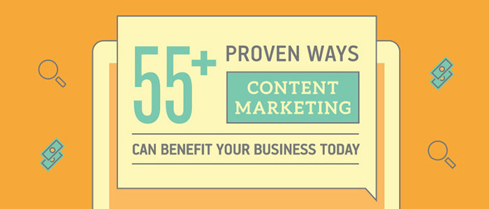 55 Ways Content Marketing can help your Business
