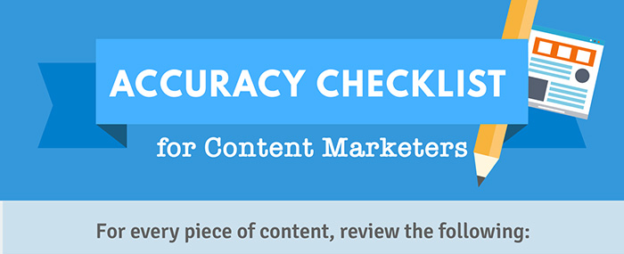Fact-Verification Checklist for Content Marketers