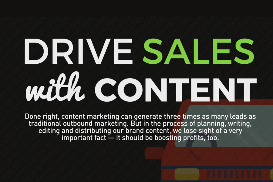 Drive Sales with Content