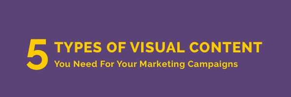 Visual Content You Need for Your Marketing Campaign
