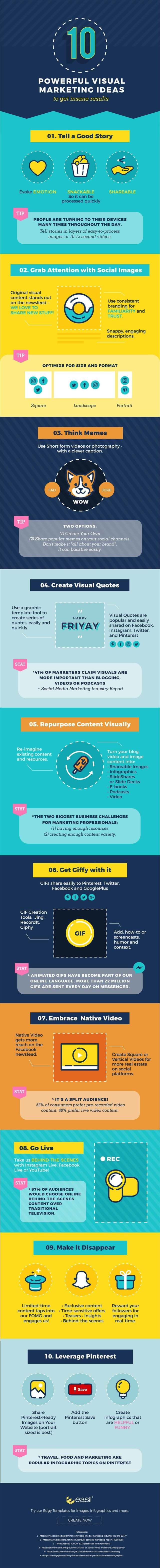 10 Effective Tips For Boosting Your Visual Marketing