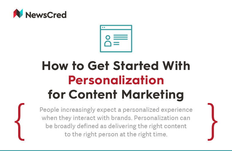 How to Get Started With Personalization for Content Marketing