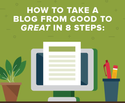 8 Steps to a Great Blog Post